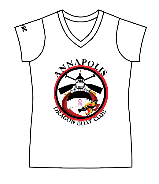 Annapolis - Female V-Neck MyM Tee