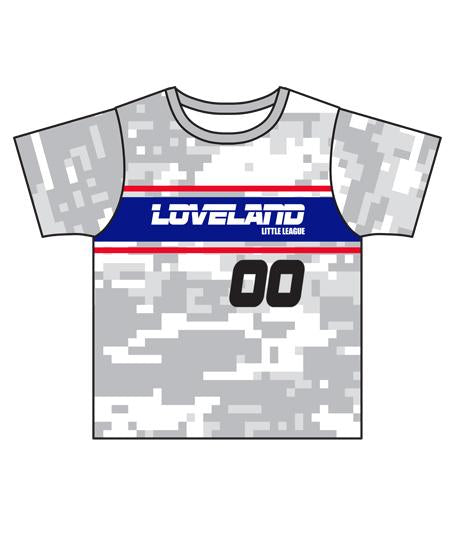 Loveland 2019 WHITE 30K - Youth Tech Tee Jersey