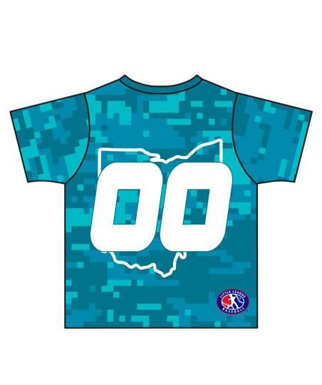 Load image into Gallery viewer, Loveland 2019 TEAL 3145 - Youth Tech Tee Jersey