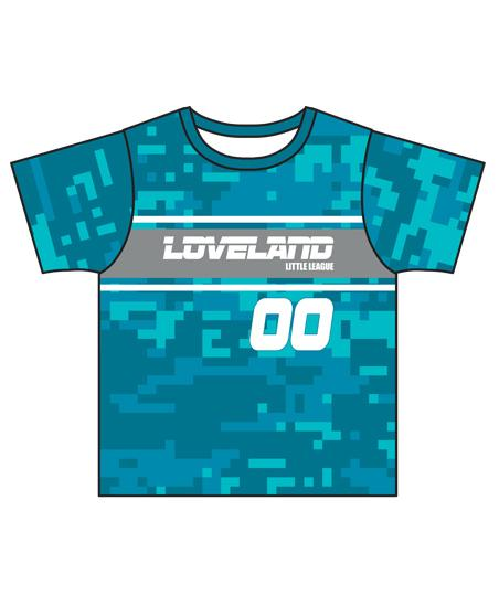 Loveland 2019 TEAL 3145 - Youth Tech Tee Jersey