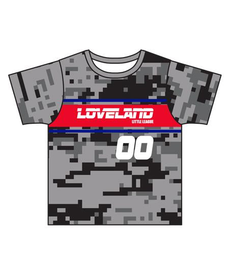 Loveland 2019 GREY CG7 - Youth Tech Tee Jersey