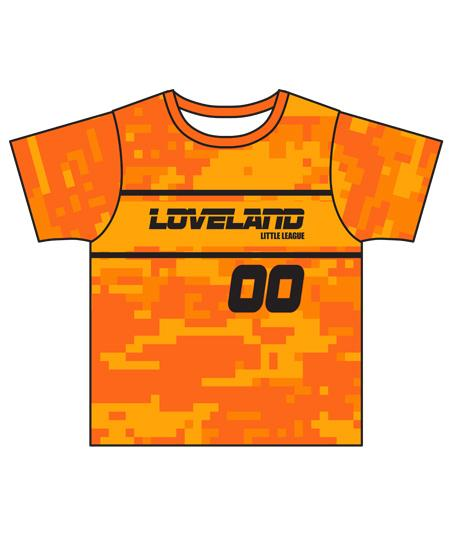 Loveland 2019 ORANGE 165 - Youth Tech Tee Jersey