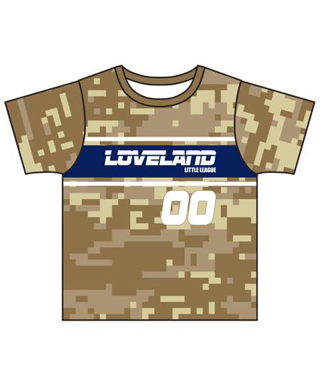 Loveland 2019 SAND 872 - Youth Tech Tee Jersey