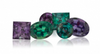 Loose alexandrite gemstones