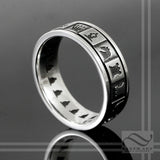 Chess Board Ring - Sterling or 14k gold