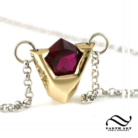 Goron's Ruby Pendant - Sterling silver or Gold