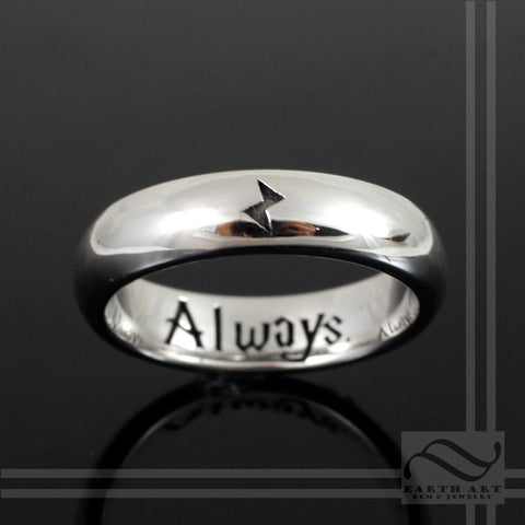 Always - Ladies Ring - Sterling Silver Band