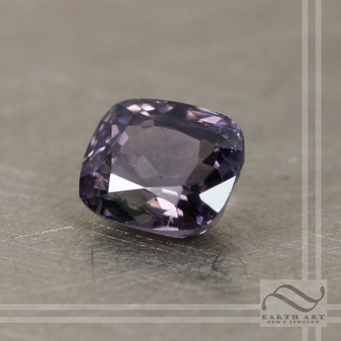 1.4 carat Loose Natural Spinel - Beautiful Lavender rectangular cushion cut