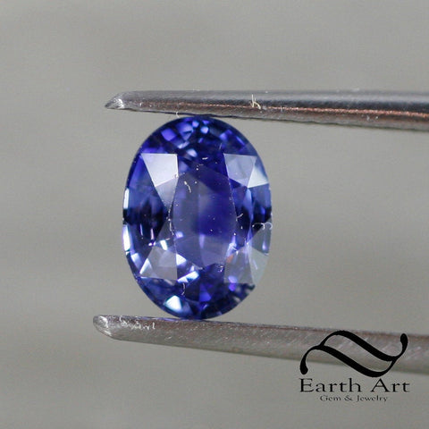 1.18 ct Natural Sapphire - Loose Ceylon blue Oval