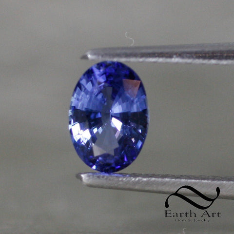0.85 ct Natural Sapphire - Loose Ceylon blue Oval 5x7