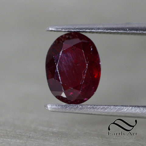 2.07 ct Natural Ruby USA Seller - Loose red Oval 8x6