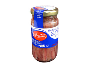 Cantabrian Anchovies in Olive Oil - 100g jar