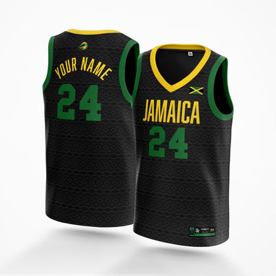 Jamaica Basketball Game Jersey