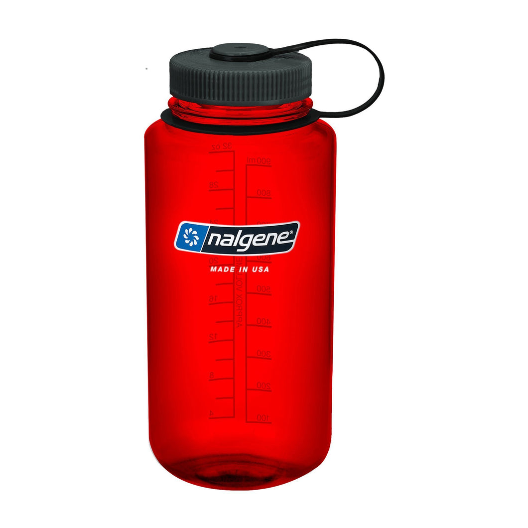 Wide Mouth Bottle 1000 ml, Red