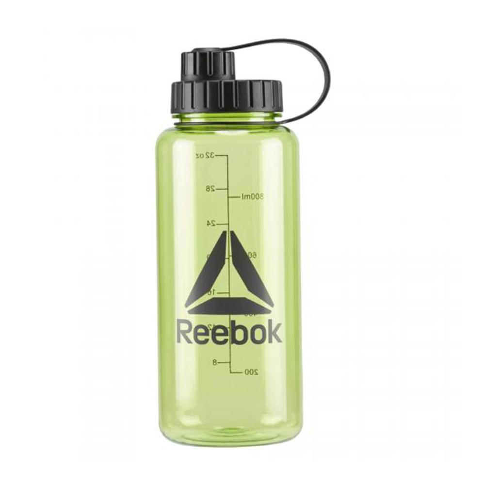 Plastic Training Water Bottle Neon Lime