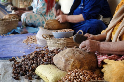 how argan oil is processed and made? laval