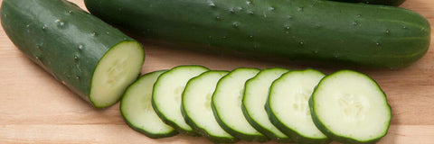 slicing cucumber, healthy benefits on body and skin
