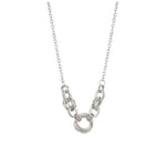 Load image into Gallery viewer, Rhodium Crystal Necklace 851643