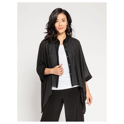 9401 Whisper Boxy Shirt - Bib and Tucker Clothing