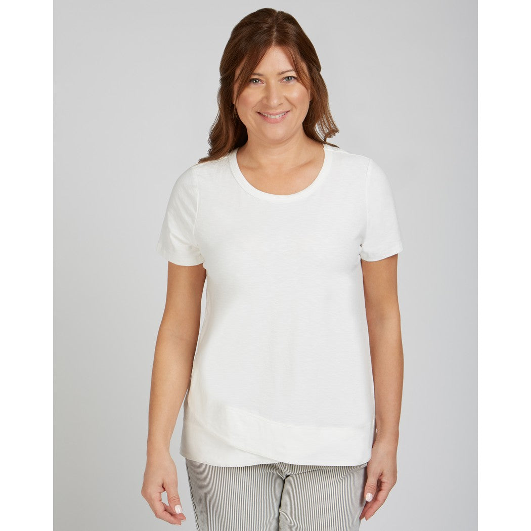 R767389G Cotton T Top