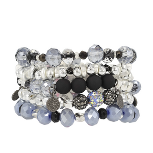 Erimish Stacking Beaded Bracelets