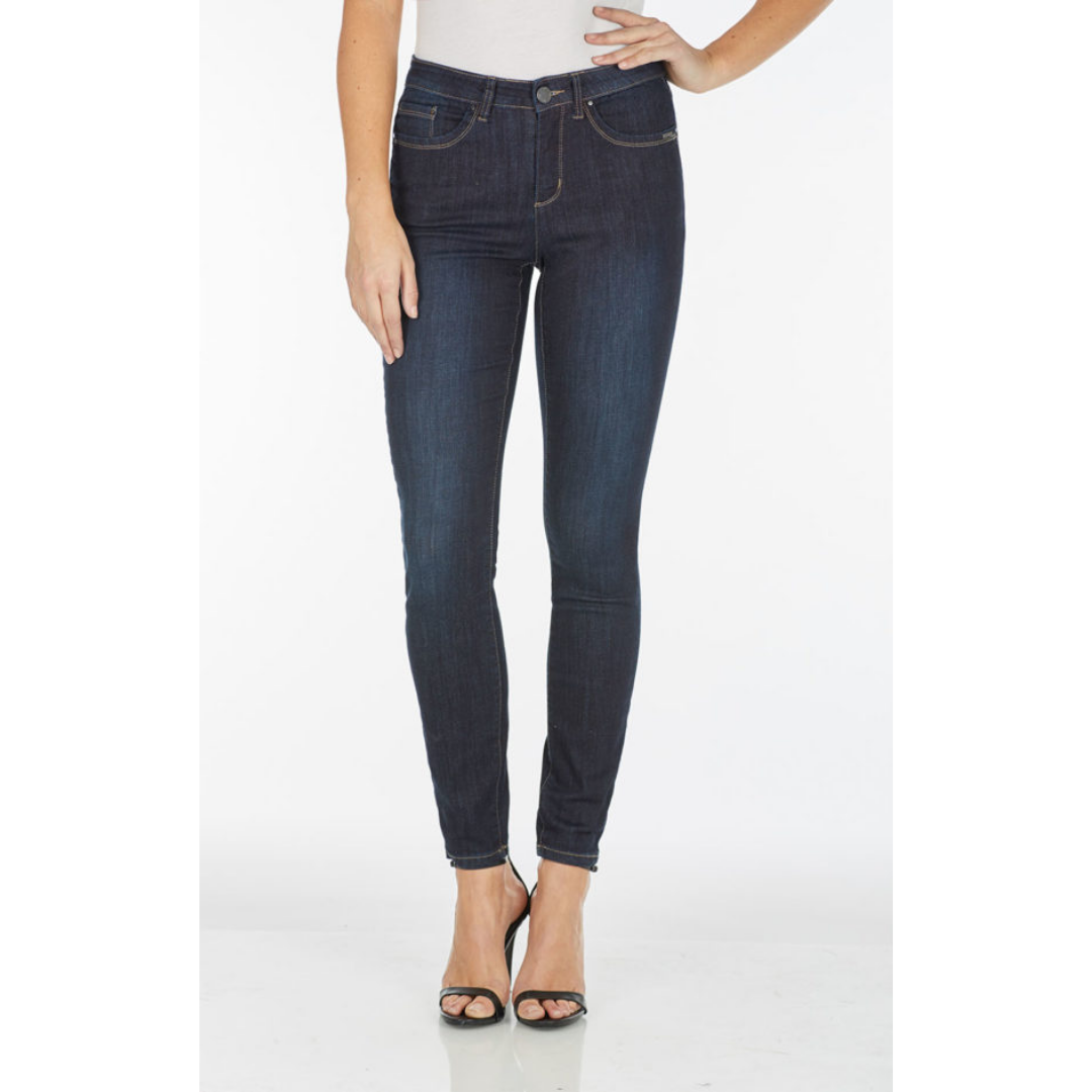 2762630  Olivia Slim Leg Denim - Bib and Tucker Clothing