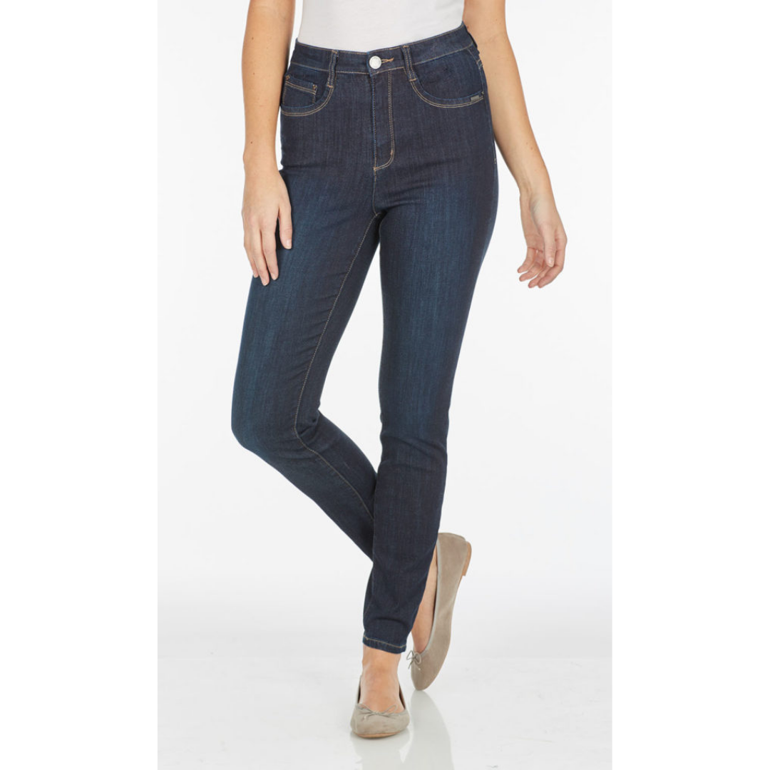 6705630 Suzanne Slim Leg Denim - Bib and Tucker Clothing