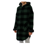 Load image into Gallery viewer, RD Style Abbe Sherpa Plaid Hooded Jacket 73JB047S