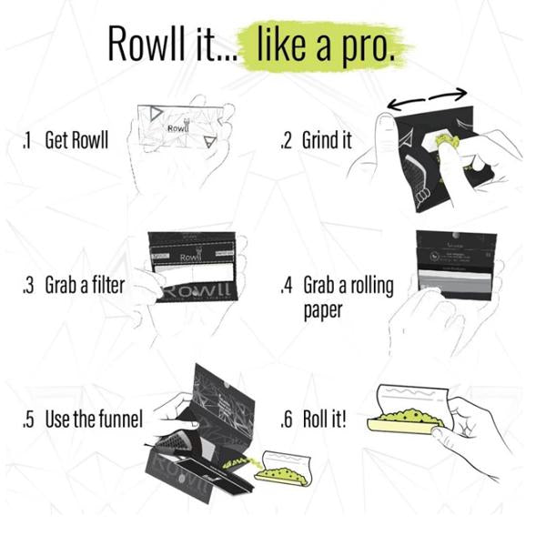 Rowll - All In 1 Rolling Kit