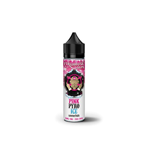Firehouse Vape 50ml Shortfill 0mg (70VG/30PG)