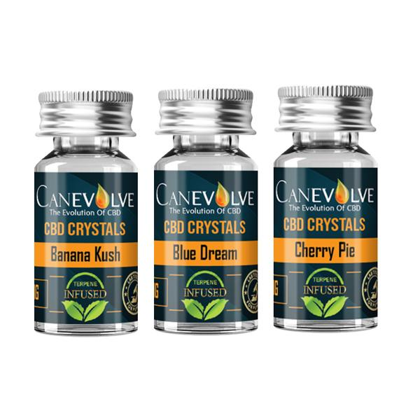 Canevolve CBD Terpene Infused 99.7%  Isolate 1000mg CBD - Ignition Vapes