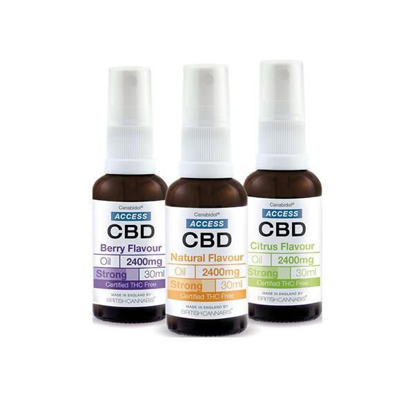 Access CBD 2400mg CBD Broad Spectrum Oil 30ml