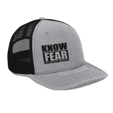 "Load image into Gallery viewer, ""Know Fear"" Snapback"