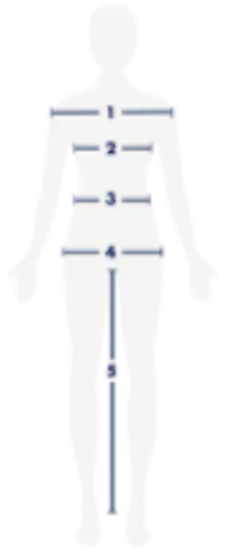 Size guide- how to measure