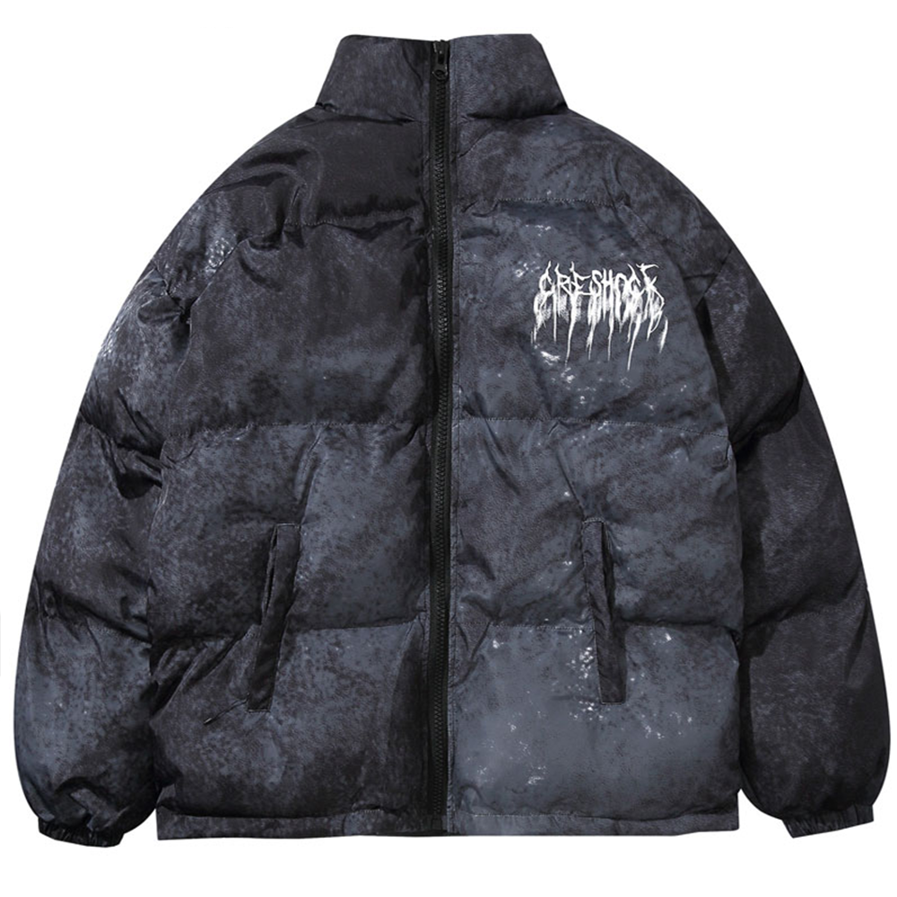 Shock Punk Puffer Jacket