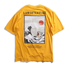 Load image into Gallery viewer, Yakai Wave Printed T Shirt