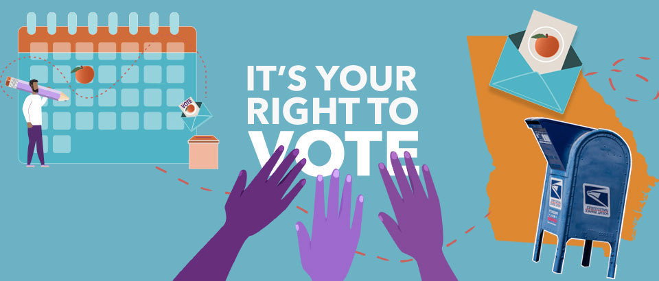 It's Your Right to Vote - Banner