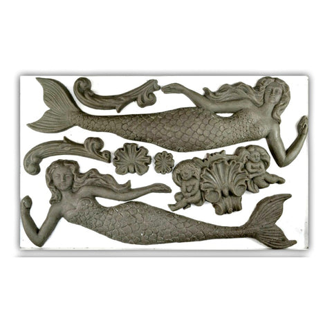 "Sea Sisters IOD Decor Mould (6""x10"")"