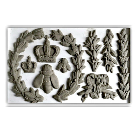 "Laurel IOD Decor Mould (6""x10"")"