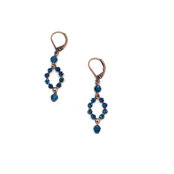 Dew pearl earrings