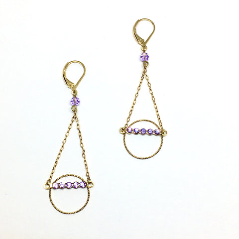Kandinsky long earrings