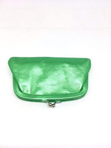 Retro leather purse