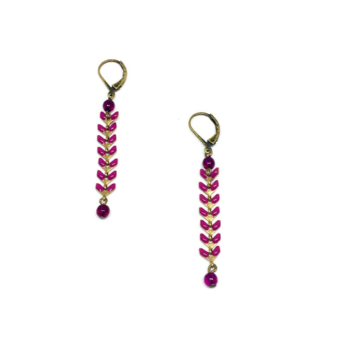 Laurier earrings