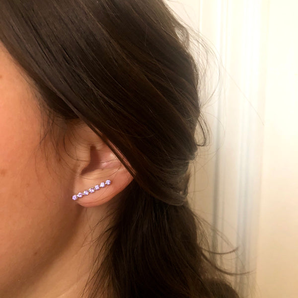 Kandinsky line 7 earrings