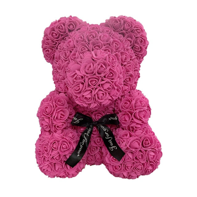 RoseQuet LoveBear! Rose red