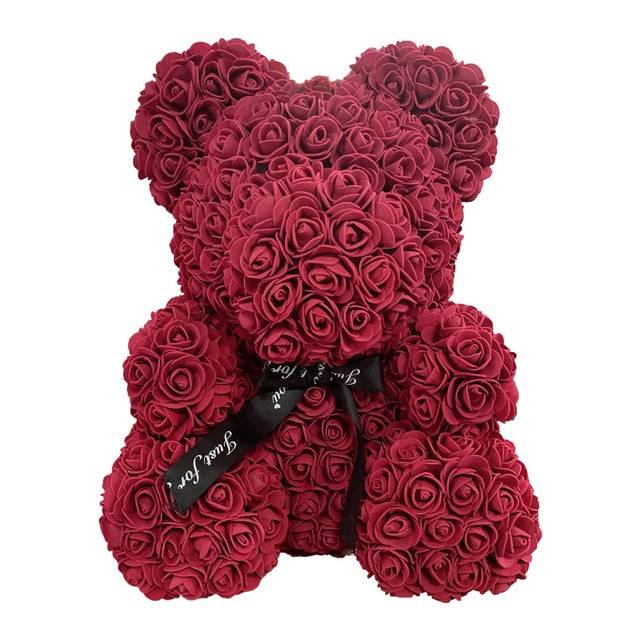 RoseQuet LoveBear! Deep red