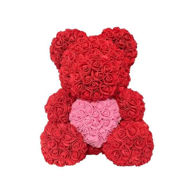 RoseQuet LoveBear! Red 'n Pink