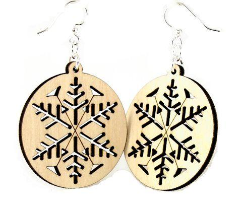 Snowflake Earrings # 1336