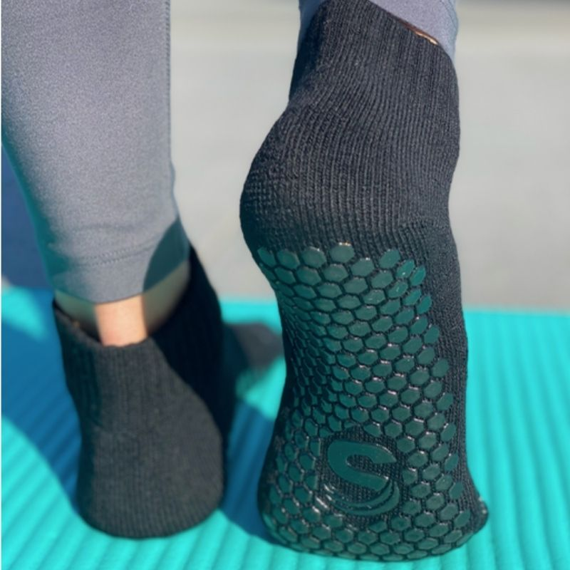 Sticky socks for pilates, barre and yoga