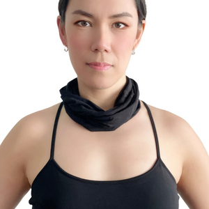 multi-functional tube bamboo scarf